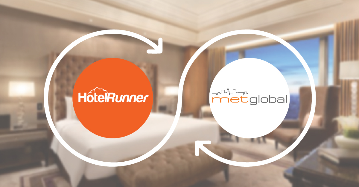HotelRunner ve Metglobal iş birliği ile satışlarınızı artırın!