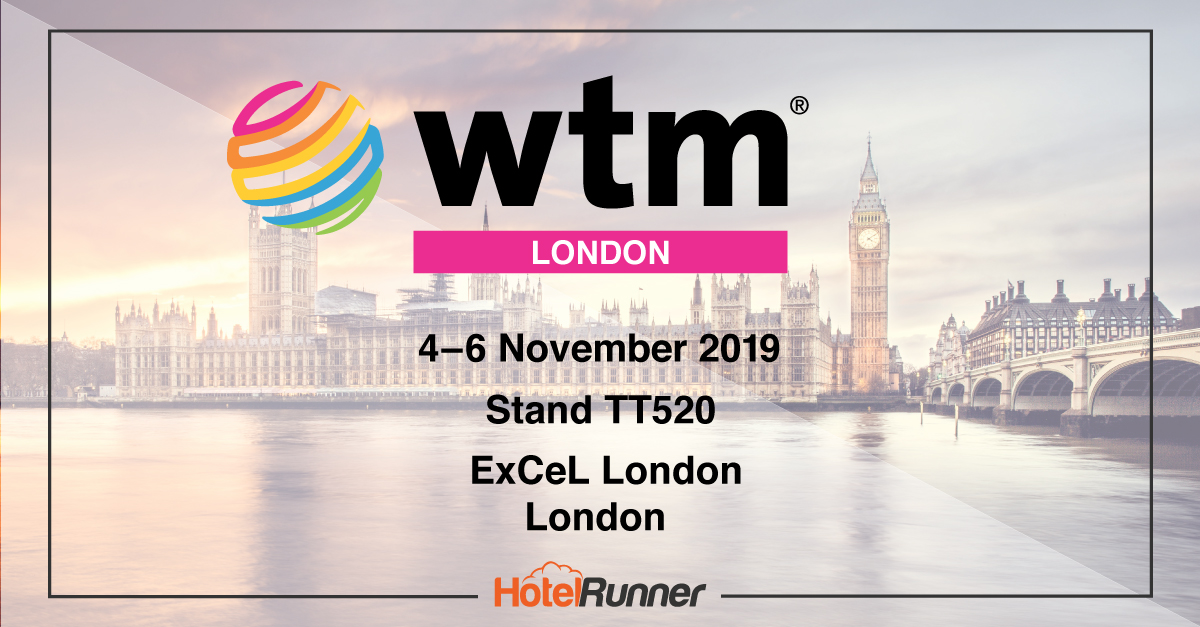 Let's meet at our stand at World Travel Market 2019 London!