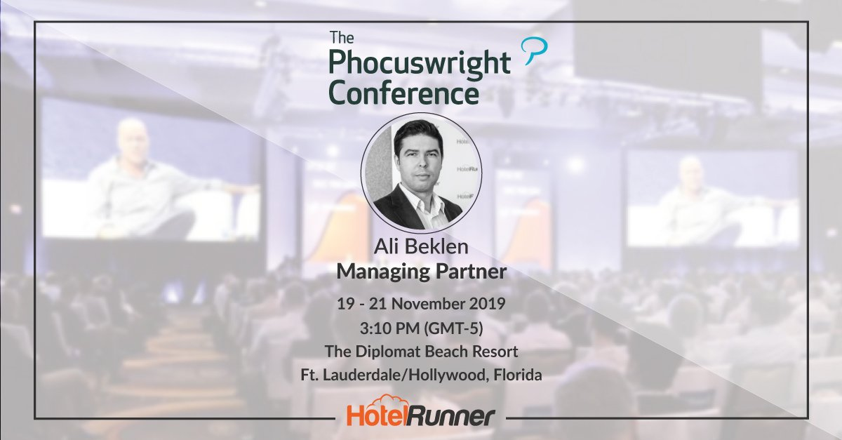 The next stop for HotelRunner: The Phocuswright Conference!