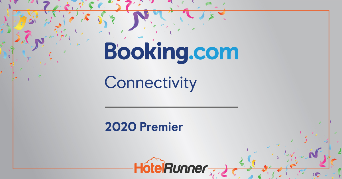 HotelRunner is recognized as Booking.com's Premier Connectivity Partner again!