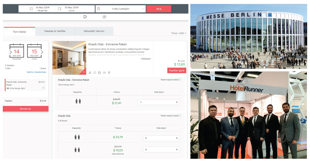 HotelRunner's new booking engine announced at ITB Berlin!
