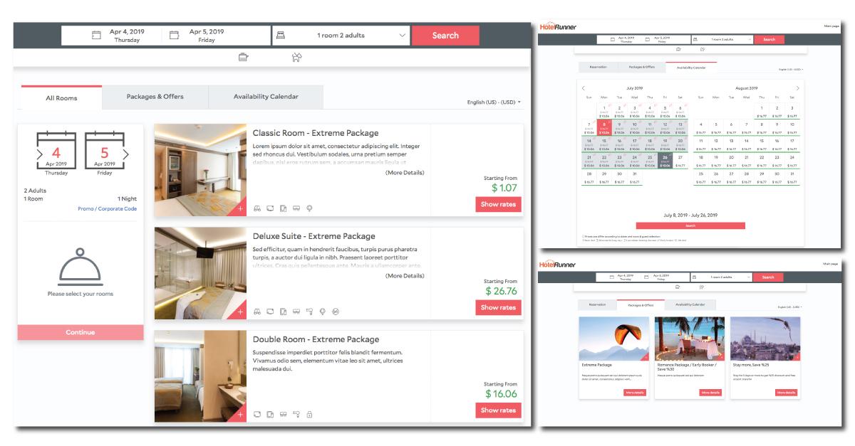 Meet the new HotelRunner Booking Engine!