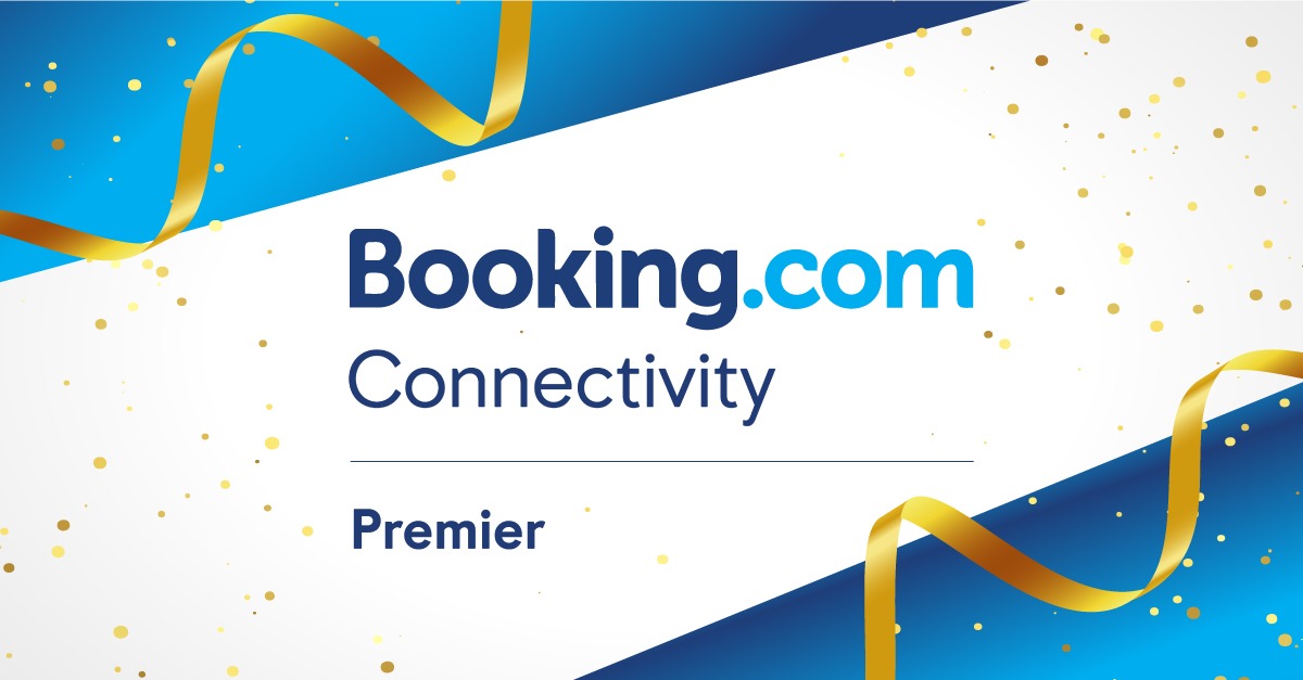 Premier Connectivity Partner for 2021 by Booking.com