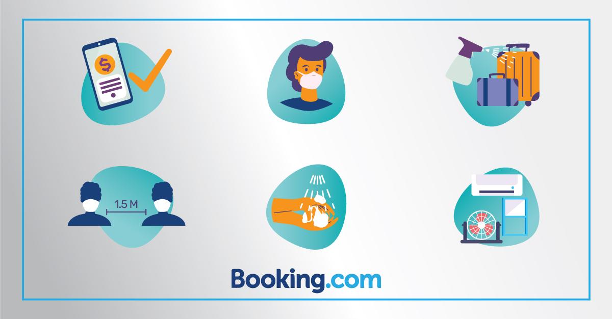 Sağlık ve güvenlik önlemleriyle Booking.com'da misafirlerinize güven verin